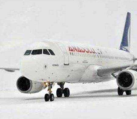 Anadolujet'ten Ankara için 'kar' uyarısı
