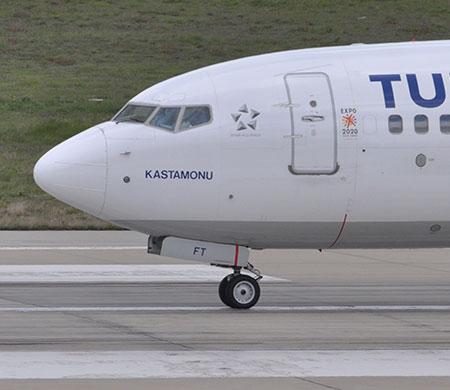 Anadolujet'in Şırnak uçağına yıldırım çarptı