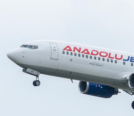 Anadolujet uçağında kabin basıncı arızası