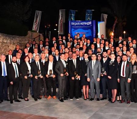 AnadoluJet 2017 yılının en başarılı acentelerini ödüllendirdi