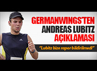 GERMANWINGS'TEN RAPOR AÇIKLAMASI