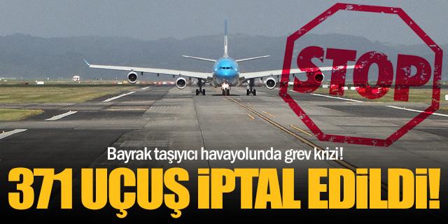 Bayrak taşıyıcı havayolu tüm uçuşlarını iptal etti!