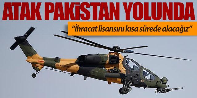 ATAK Helikopteri Pakistan yolunda