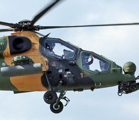 ATAK helikopterleri Tayland'ın radarına girdi