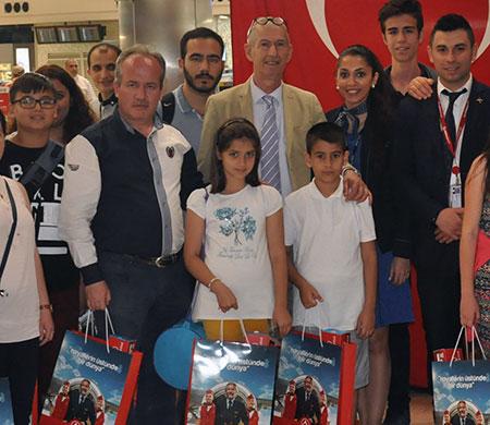 Atlasglobal Şehit ve Gazi çocuklarını ağırladı