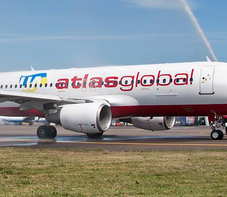 AtlasGlobal UA yeni uçağını filosuna kattı