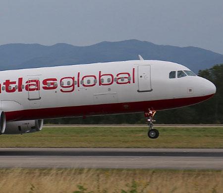 AtlasGlobal uçağı Antalya'ya divert etti