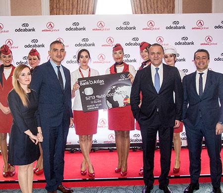 Atlasglobal'den yeni işbirliği; 'Bank'O Atlas!