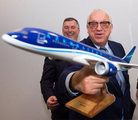 AZAL'dan Boeing'e 1.9 milyar dolarlık sipariş