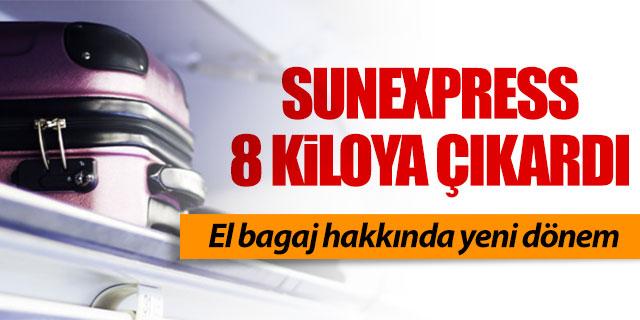 sunexpress 8 kiloya cikardi