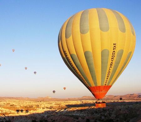Balon turizminde hedef: 300 bin turist