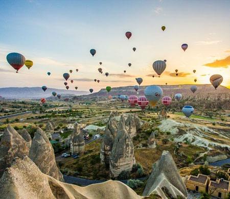 Balon turları iptal edildi