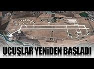 BATMAN'DA PİST ONARILDI, UÇUŞLAR YENİDEN BAŞLADI...