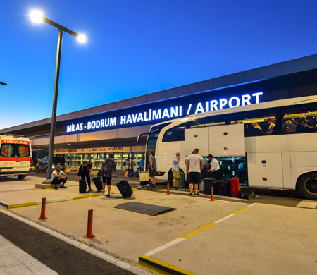 Milas-Bodrum Havalimanı yolcu sayısı arttı