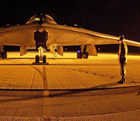 ABD 200 havacı ile 3 hayalet uçak gönderdi