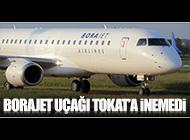 İSTANBUL-TOKAT UÇAĞI SAMSUN'A İNDİ