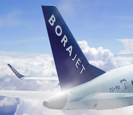 Borajet Ibiza'ya uçuyor