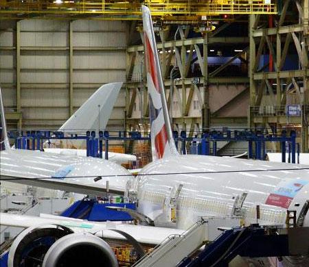 British Airways ilk B787-9 Dreamliner'ını teslim alıyor