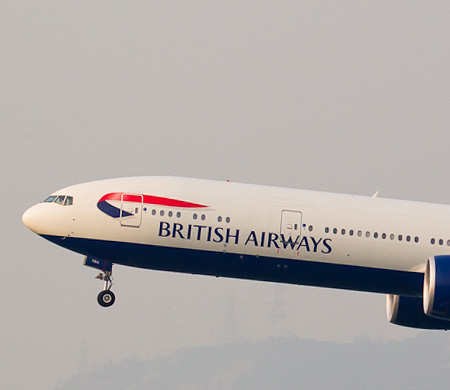 British Airways uçağında panik