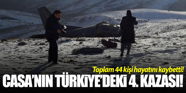 CASA'nın Türkiye'deki 4. kazası