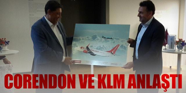 CORENDON VE KLM'DEN ORTAK ANLAŞMA