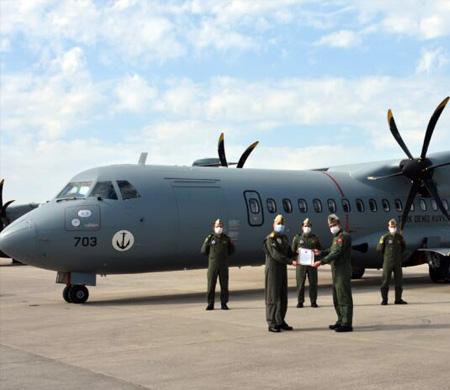 Deniz Kuvvetleri'ne bir uçak daha teslim edildi