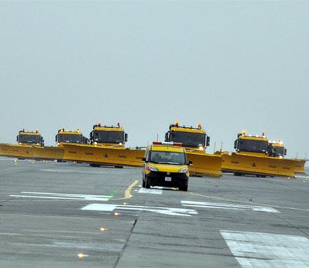 Atatürk Havalimanı karla mücadeleye hazır