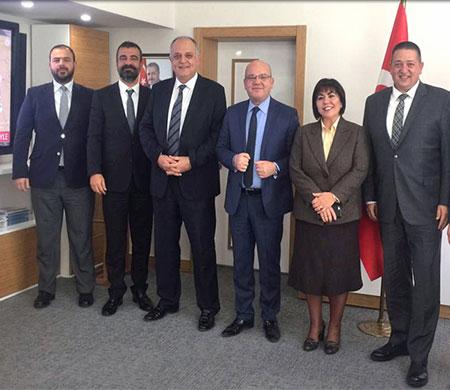 Ahmet Selçuk Sert ve Nurzat Erkal Funda Ocak'ı ziyaret etti