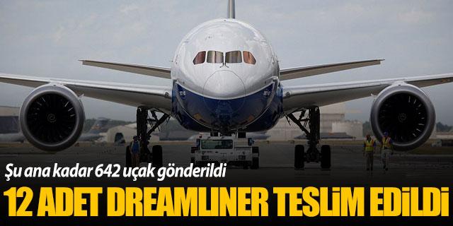 Boeing 12 adet Dreamliner teslim etti