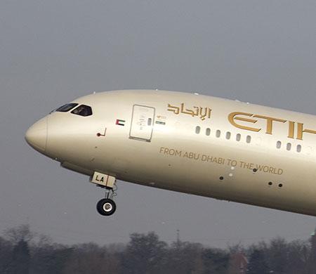 Etihad İstanbul'a Dreamliner ile uçacak