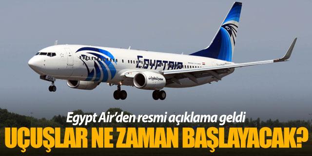 Mısır uçuşları ne zaman başlayacak?