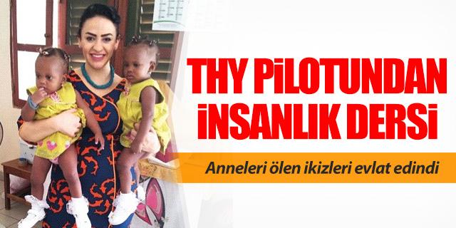THY pilotundan insanlık dersi