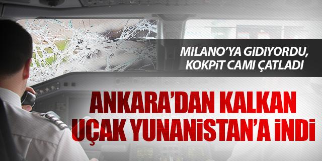 BAKANIN UÇAĞI MECBURİ İNİŞ YAPTI!