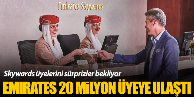 Emirates Skywards 20 milyon üyeyi aştı