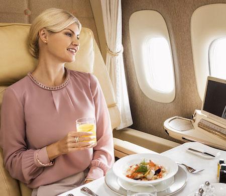 Emirates ultra lüks kabinini tanıttı
