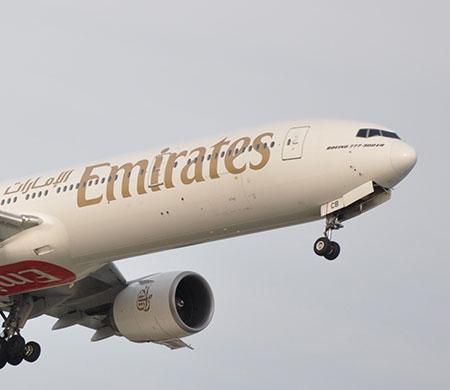 Emirates filosunda yeni yıl değişikliği