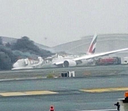 Emirates'ten kaza açıklaması