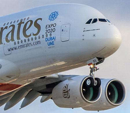 Emirates iki noktaya daha A380'le uçacak