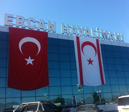 Ercan Havalimanı krizi şimdilik çözüldü!