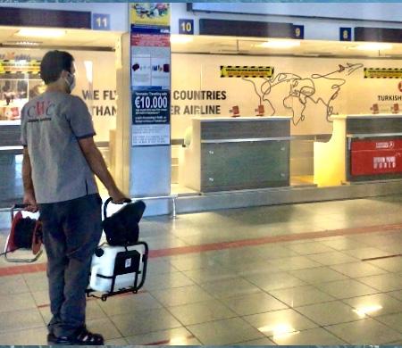 Ercan Havalimanı Ramazan Bayramı'na hazır