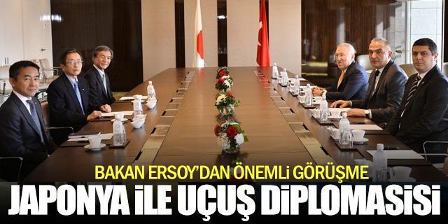 Japon bakanlarla uçuş diplomasisi