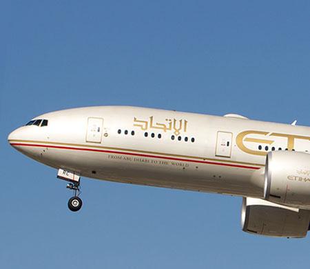 Etihad'ın Dallas uçağı Atatürk Havalimanı'na indi