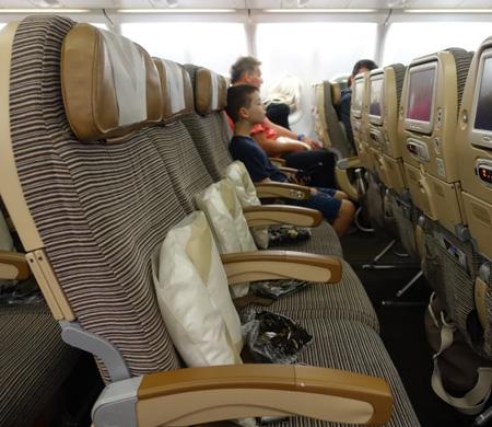 Etihad ekonomi yolcularına 'boş koltuk' satacak