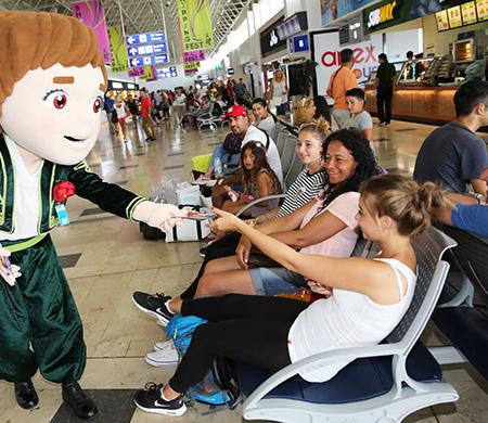 EXPO 2016'nın tanıtımı Antalya Havalimanı'nda yapıldı