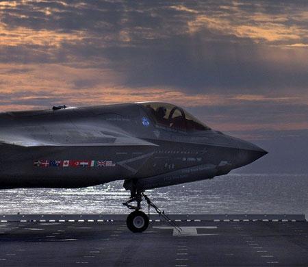 F-35 için tarihi anlaşma