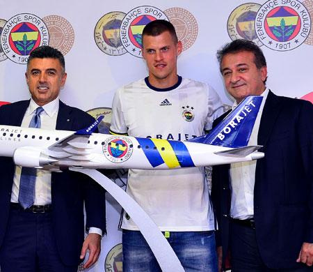 Borajet ve Fenerbahçe 3 yıl birlikte uçacak