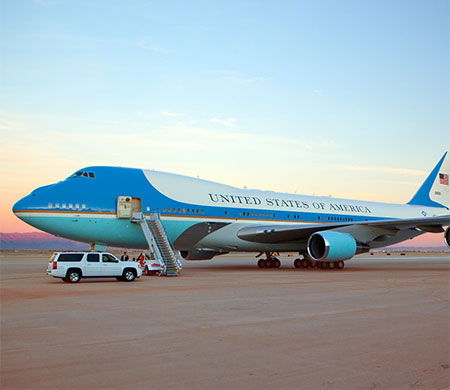 ABD'de Air Force One krizi