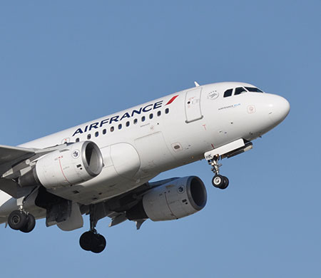 Air France'ın İstanbul uçağında şok olay
