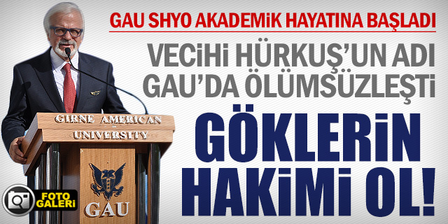 GAU SHYO AKADEMİK HAYATINA RESMEN BAŞLADI