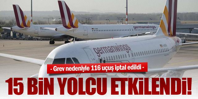 GERMANWINGS'TE GREV SONA ERDİ